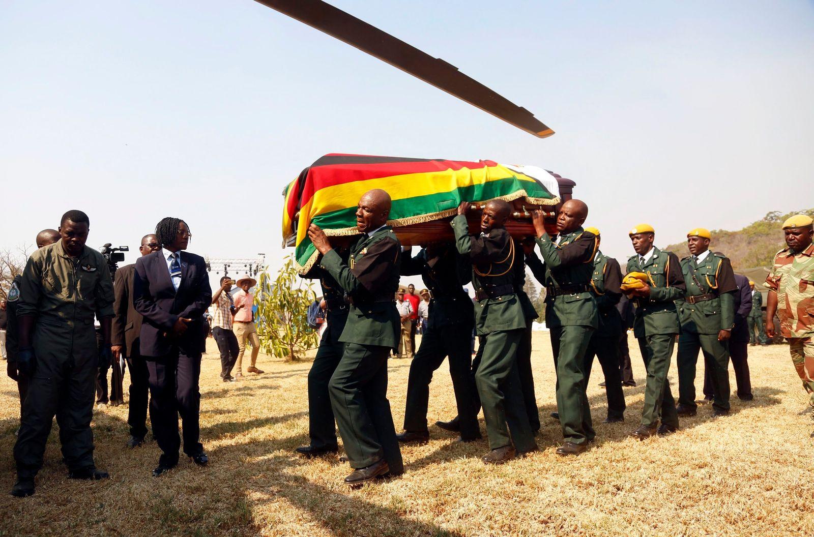 Mugabe Sarg Harare