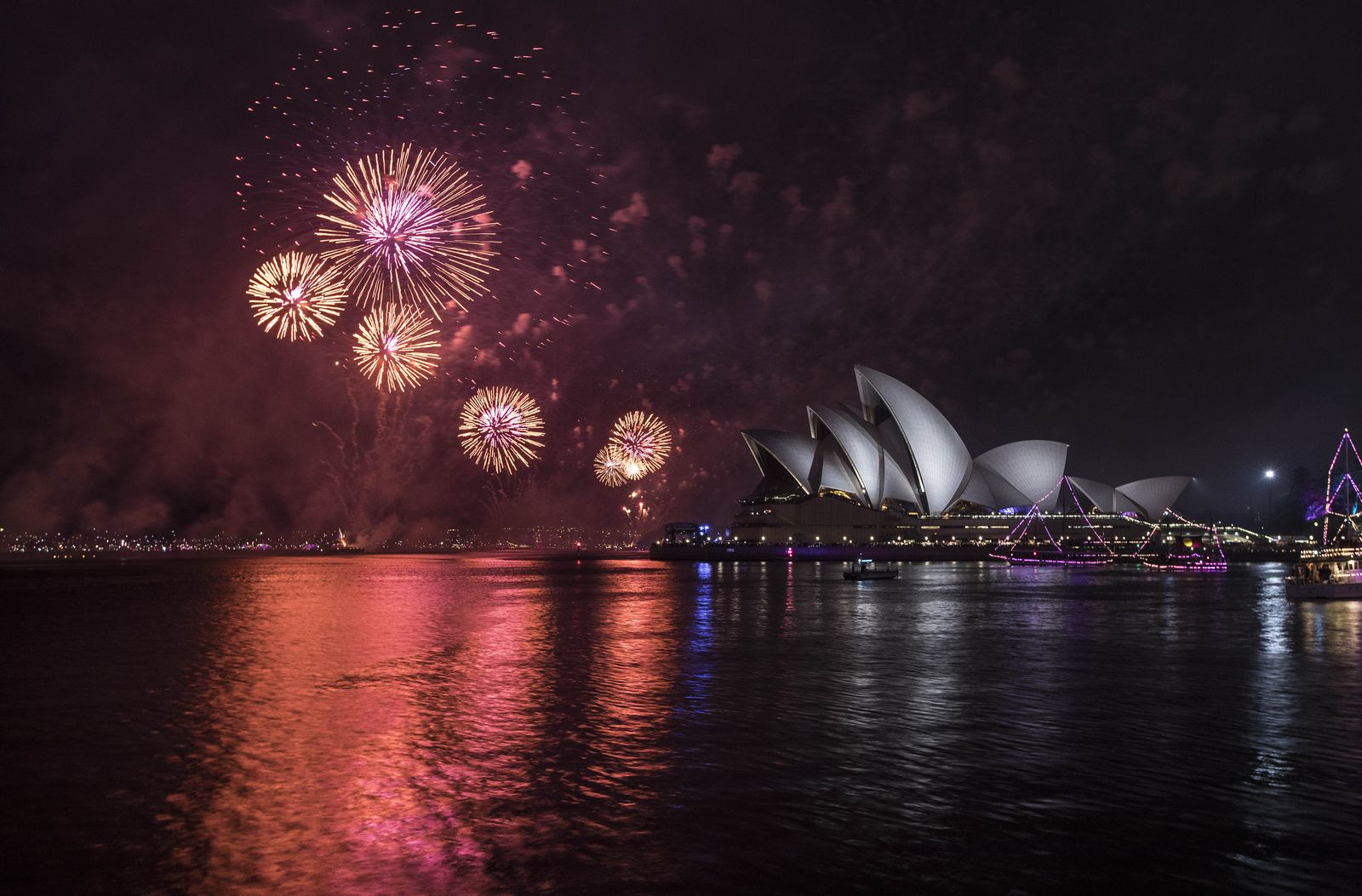 Sydney/ Feuerwerk