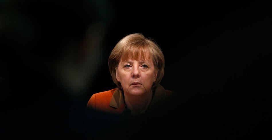 Kanzlerin Merkel: Auf Konfrontation mit den obersten Firmenetagen
