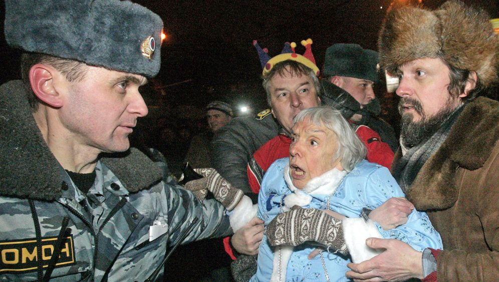 Photo Gallery: Police Power Putin-Style