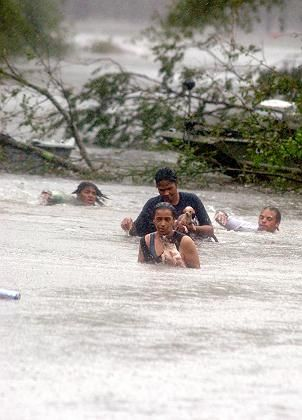 Fun-loving New Orleans, now a disaster area.