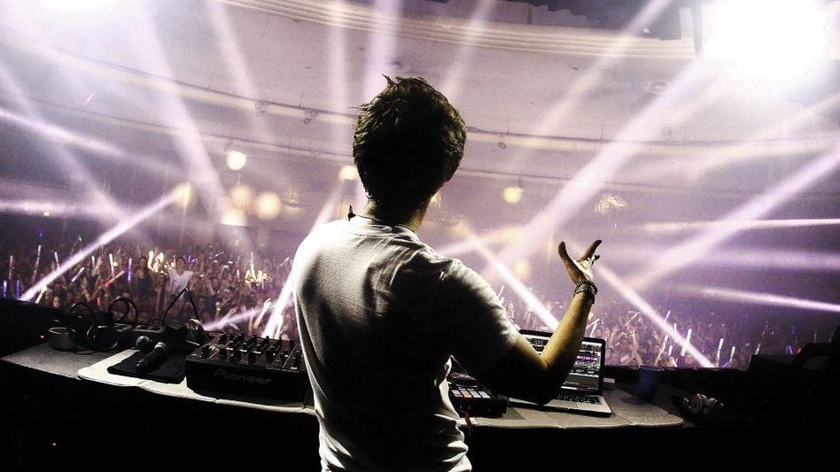DJ Zedd im Hollywood Palladium in Los Angeles