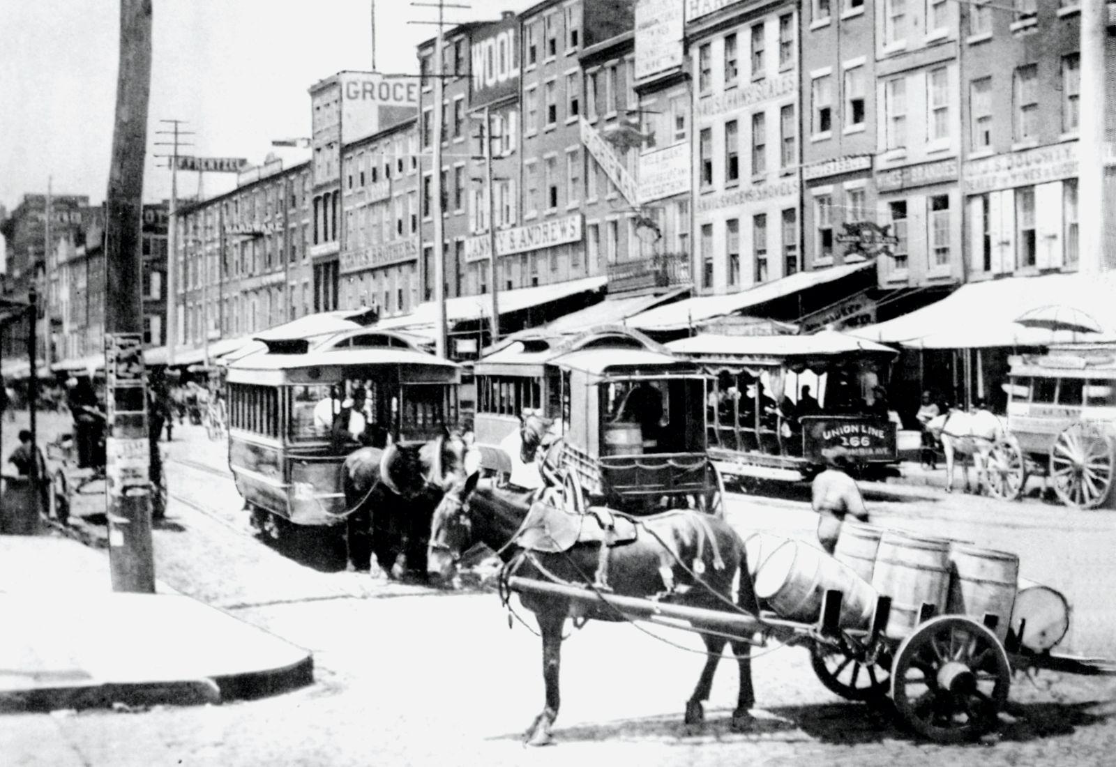 Horse Cart With Barrels, Philadelphia, PA