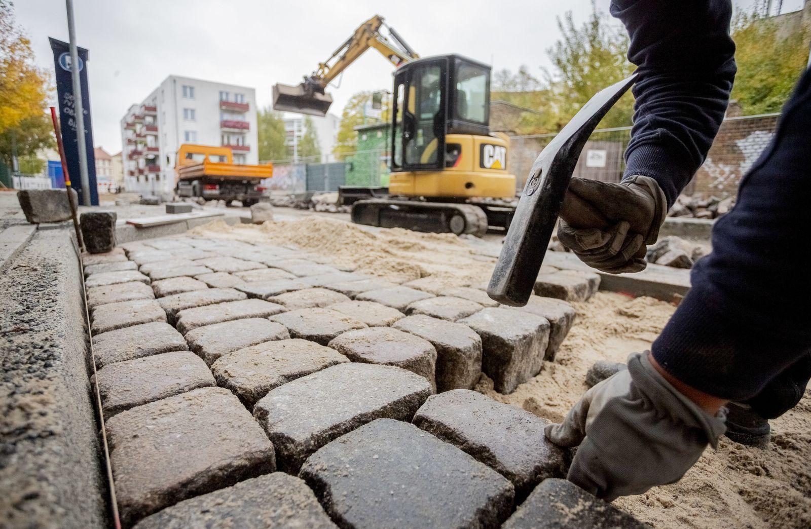 Straßenausbau in Brandenburg