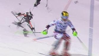 Drohnen-Crash beim Skiweltcup: Wie konnte das denn passieren?