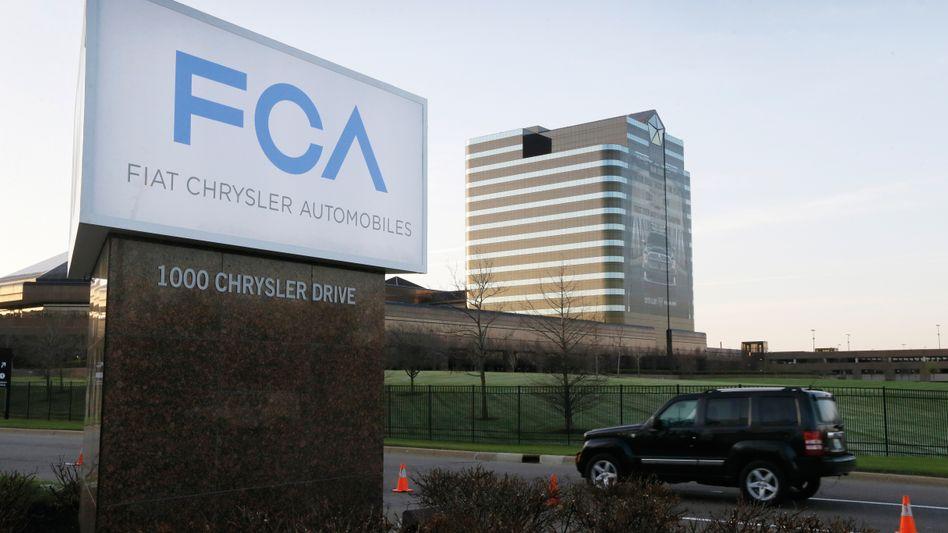 Fiat-Chrysler-Zentrale in Auburn Hills