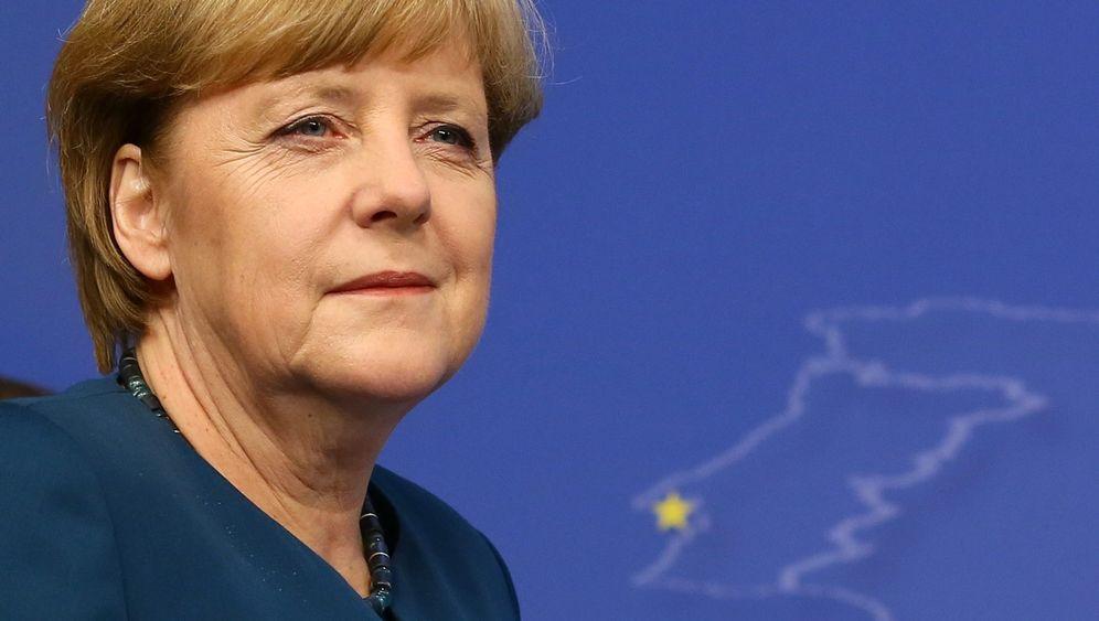 Photo Gallery: Merkel Versus Europe