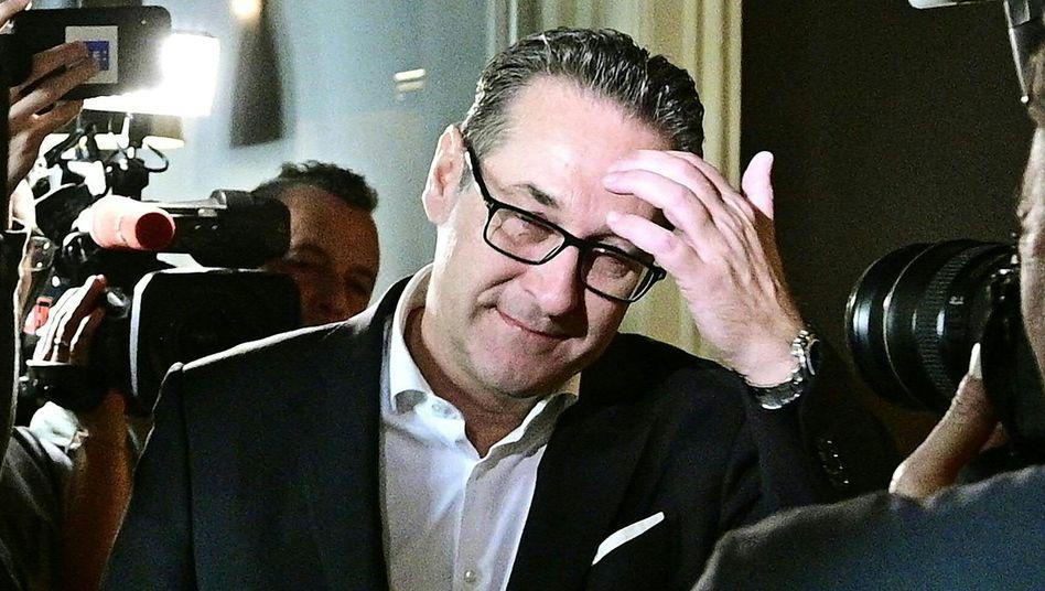 Heinz Christian Strache, einst FPÖ-Parteichef, strauchelte über die Ibiza-Affäre