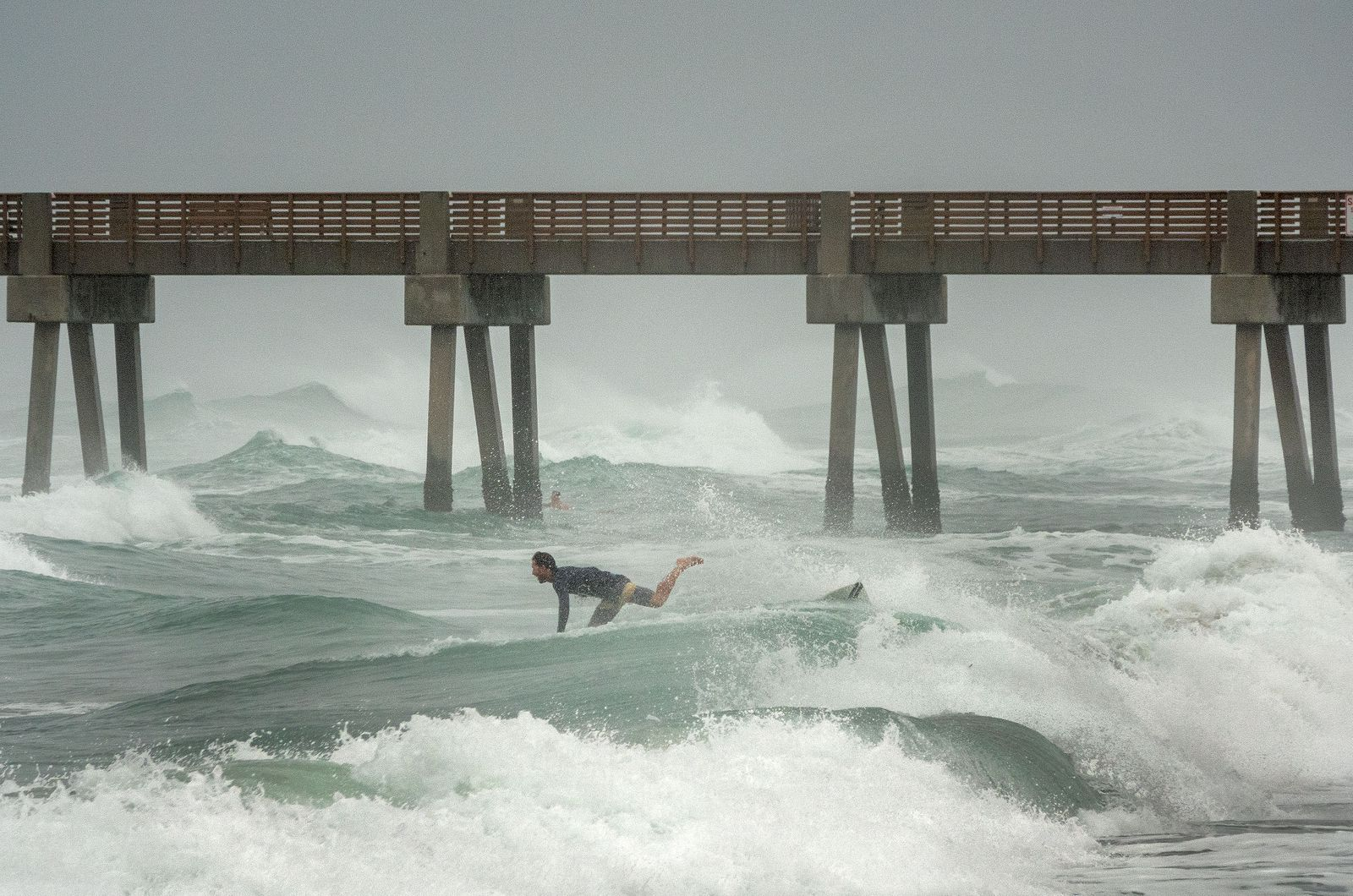 Storm Isaias passes by Florida's shores, Juno Beach, USA - 02 Aug 2020