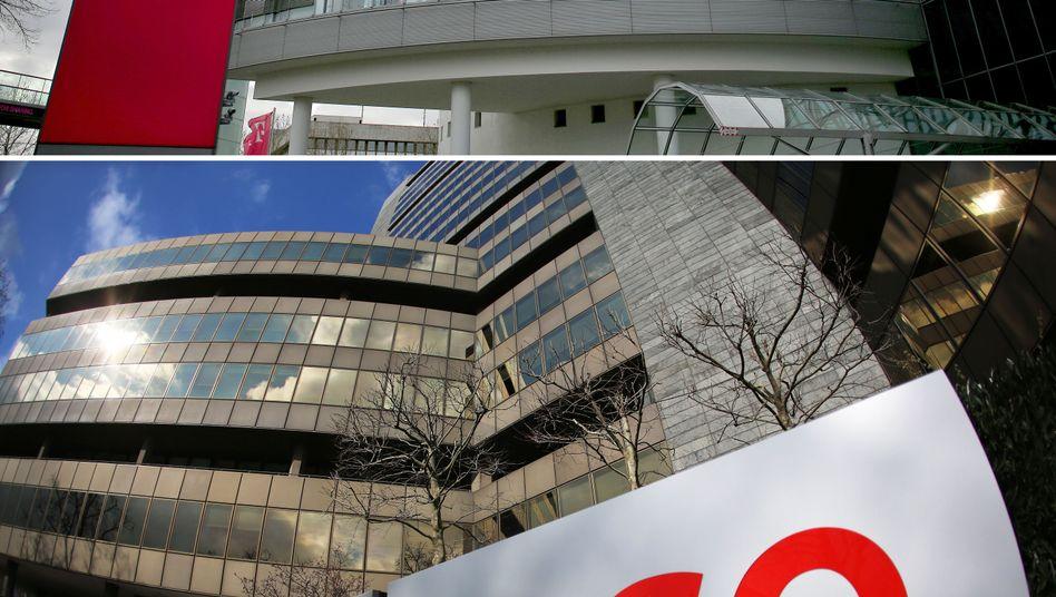Zentrale der Ergo-Versicherung