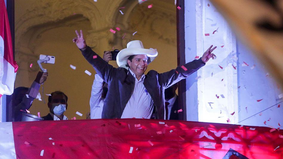 Pedro Castillo: »Eine neue Zeit hat begonnen«