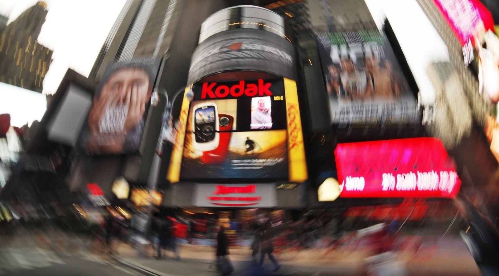 Kodak / Pleite / Insolvenz / Times Square