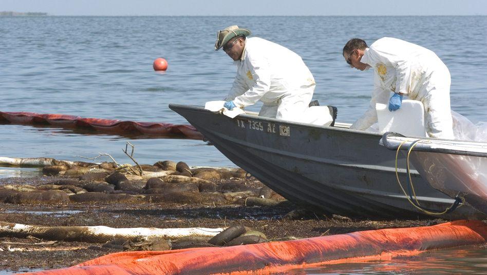 Hilfsfonds: BP stellt 20 Milliarden Dollar für Ölpest-Opfer bereit
