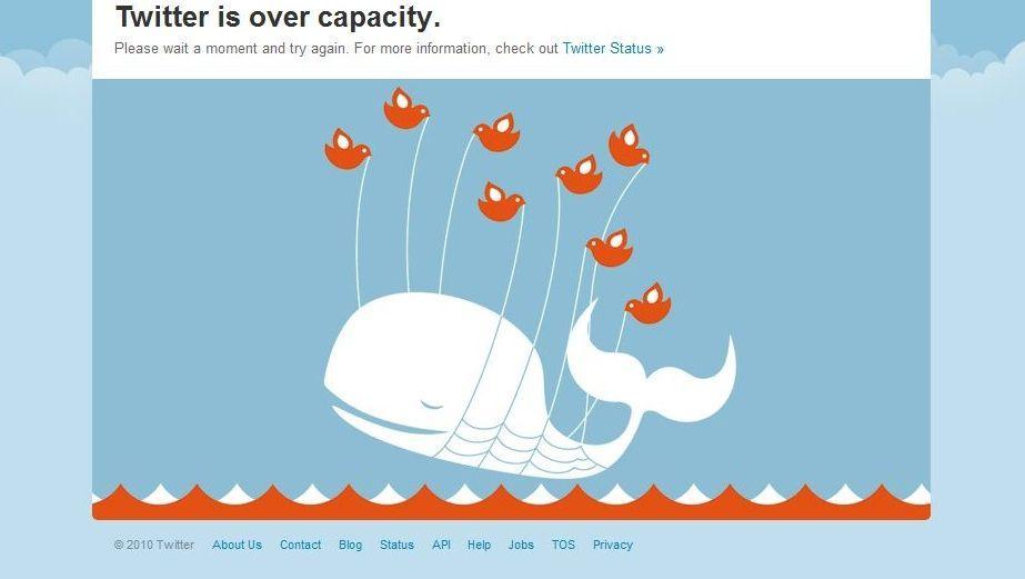 """Twitters """"Fail Whale"""": Das Befreier-Image ist vorerst dahin"""