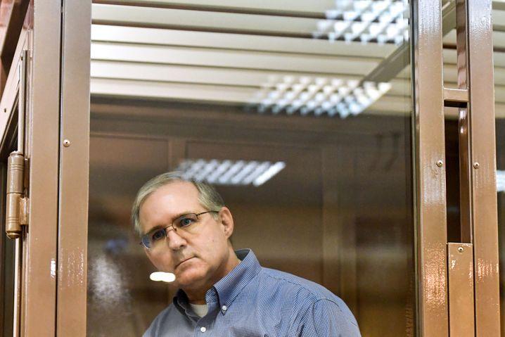 16 Jahre Haft in Russland: Der Amerikaner Paul Whelan