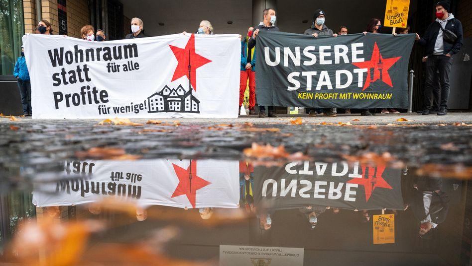Protest gegen hohe Mieten: »Die Belastungen sind unerträglich hoch«