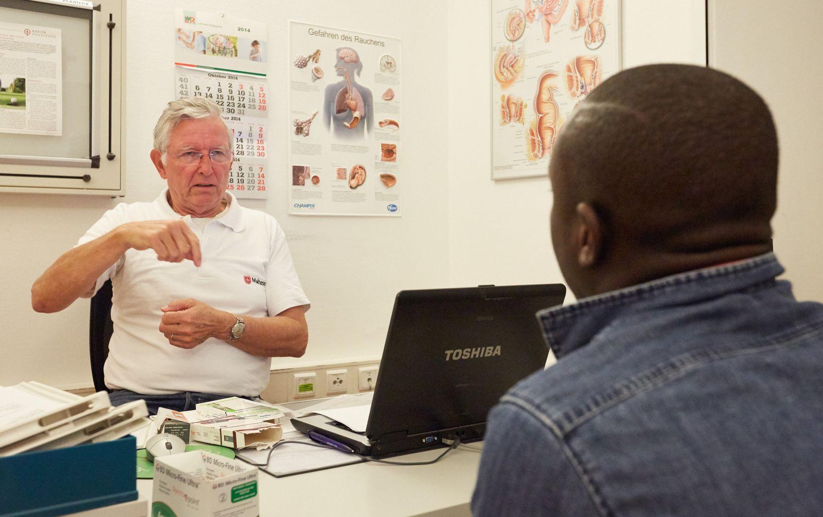 Mediziner helfen Migranten in Not