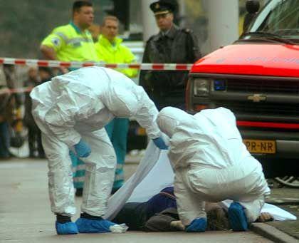 Van-Gogh-Attentat im November 2004: Woher sollten die Aktualia auch kommen, wenn nicht aus den Profi-Medien?
