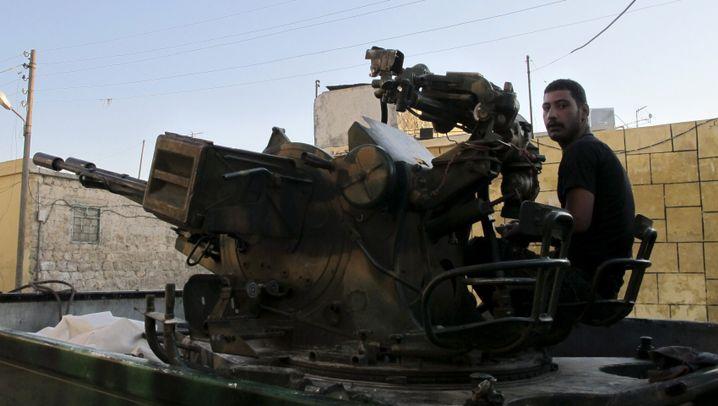 Kampf gegen Assad: Der Bürgerkrieg eskaliert