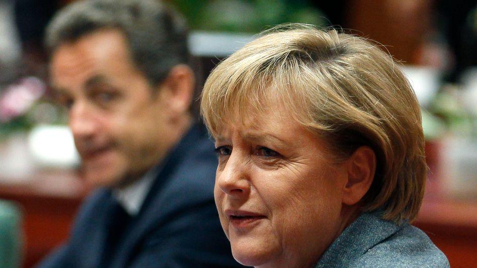 Währungs-Krisengipfel: Europa kommt der Eisernen Kanzlerin entgegen