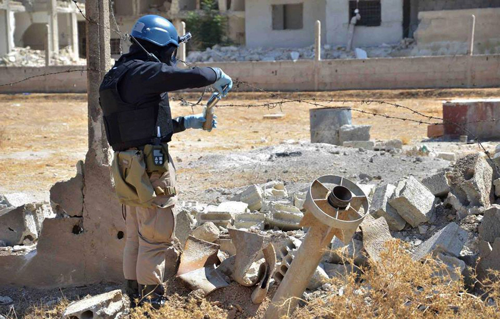 Mideast Syria Toxic Gas
