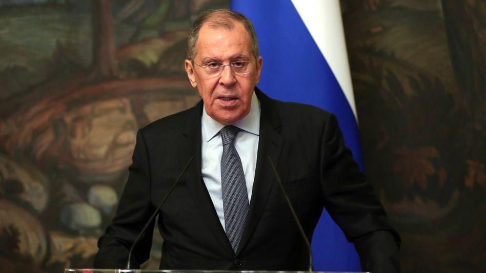 Russlands Außenminister Lawrow: Moskau wirft dem Westen vor, die politische Krise zu seinem Vorteil ausnutzen zu wollen