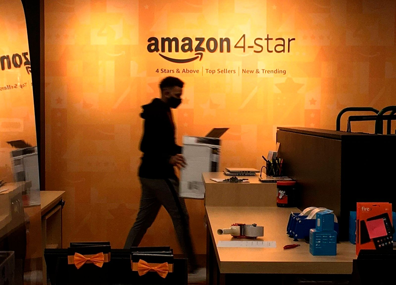 September 16, 2020, Palm Beach, Florida, USA: The first Amazon 4-star store in Florida opened in The Gardens Mall Wedne