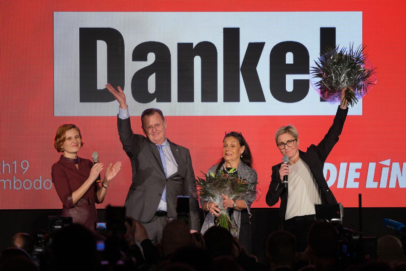 Thüringen/ Wahlnacht/ Linke