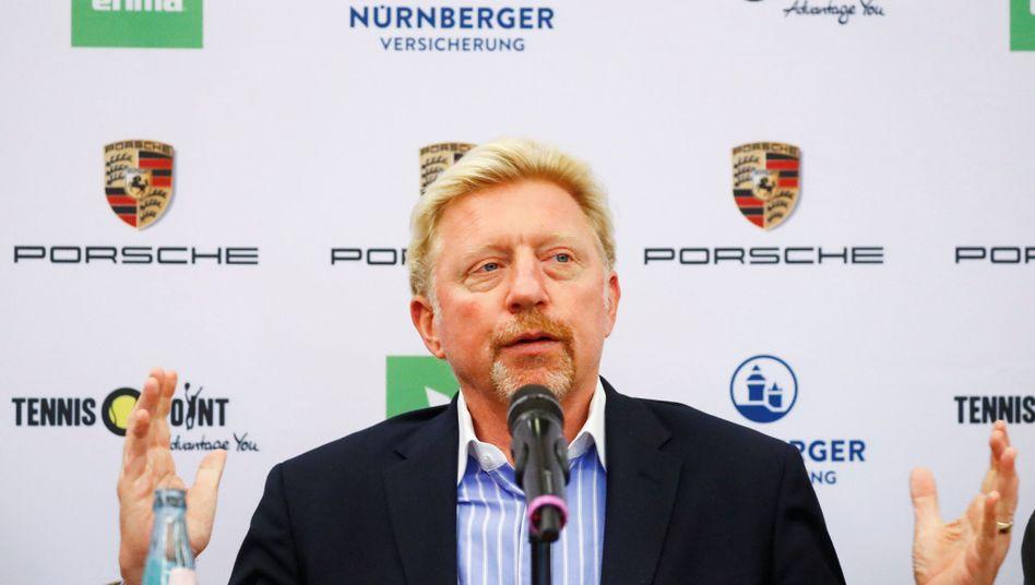 Neue Funktion im deutschen Tennis: Breakball Becker