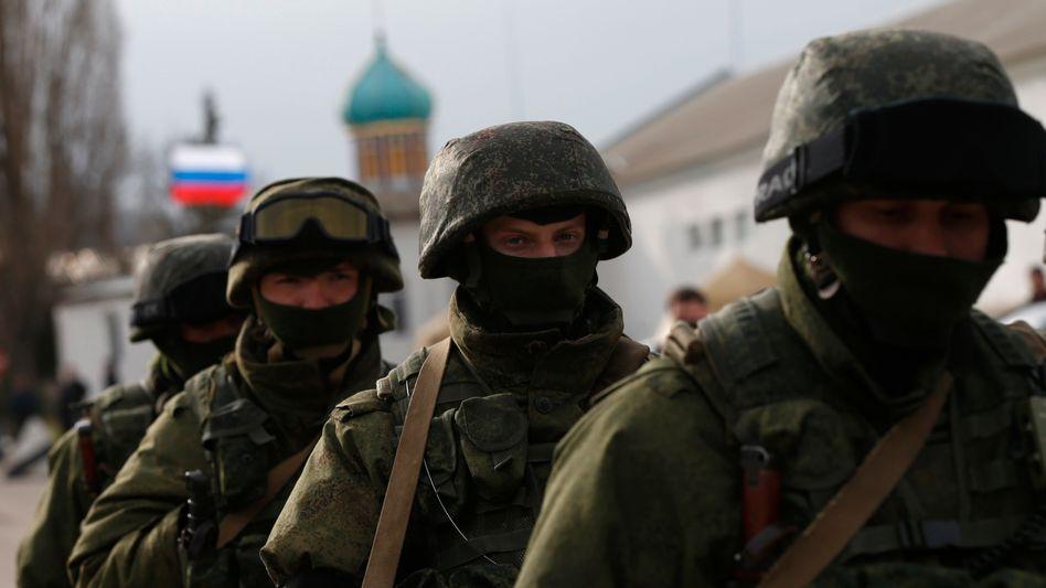 """Bewaffnete Einheiten in Simferopol: """"Die Signale sind widersprüchlich"""""""