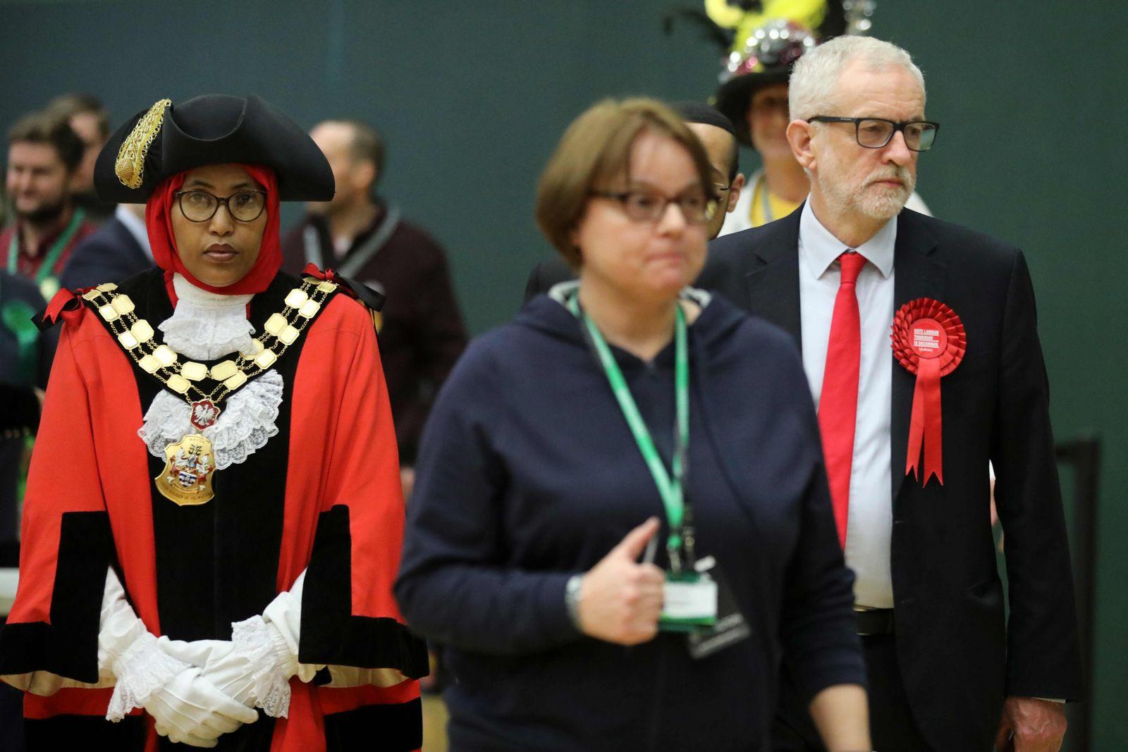 Corbyn Wahl UK