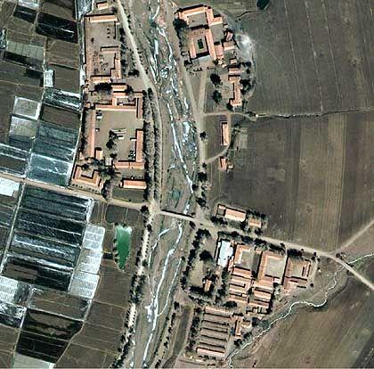 Satellitenaufnahme des Straflagers Nr. 22 in der nordkoreanischen Provinz Hoengjang