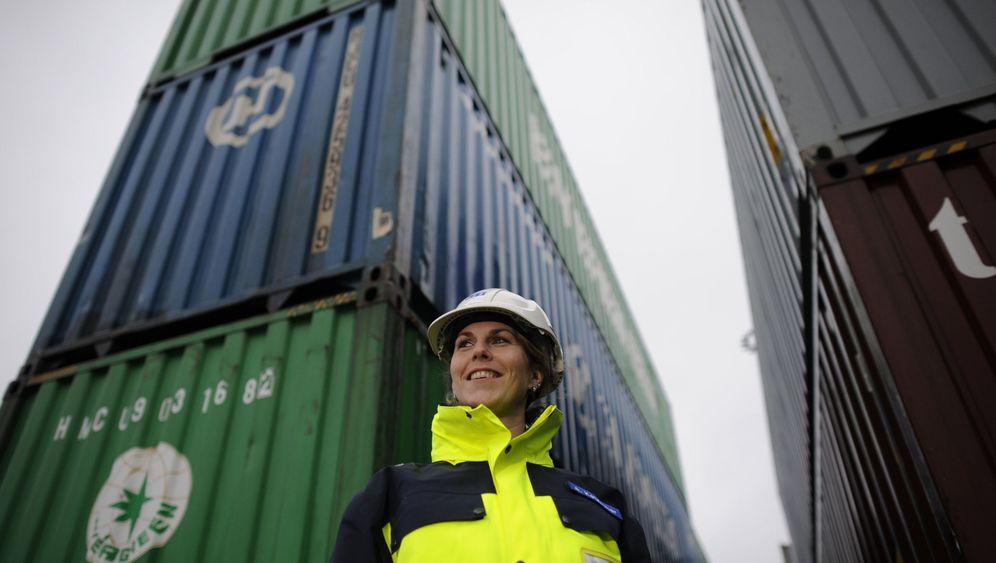 Schiffsplanerin Anna Ketzscher: Hochstapeln im Hamburger Hafen