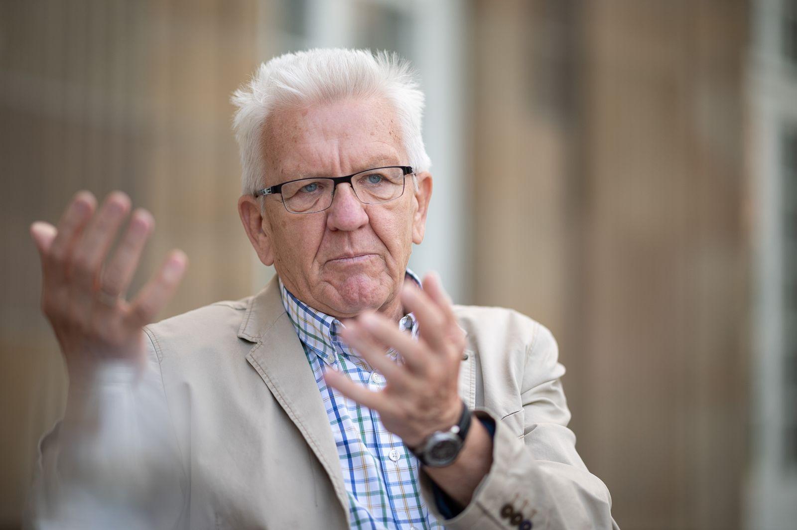 Winfried Kretschmann - Ministerpräsident von Baden-Württemberg