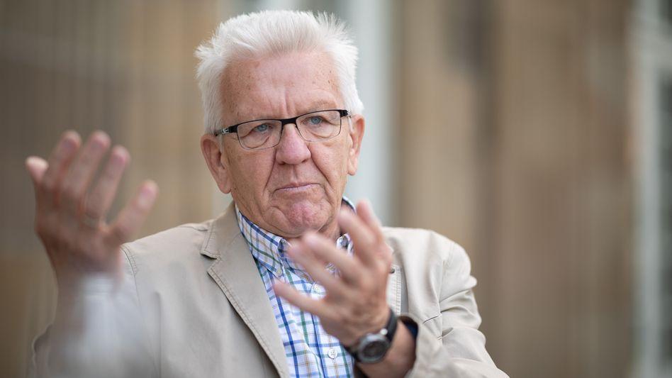 Winfried Kretschmann: »Wir müssen uns auch von der Gschaftlhuberei emanzipieren«