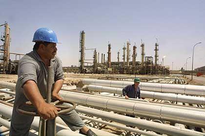 Irakische Öl-Raffinerie al-Dora bei Bagdad (2001): New Yorks Staatsanwaltschaft ermittelt