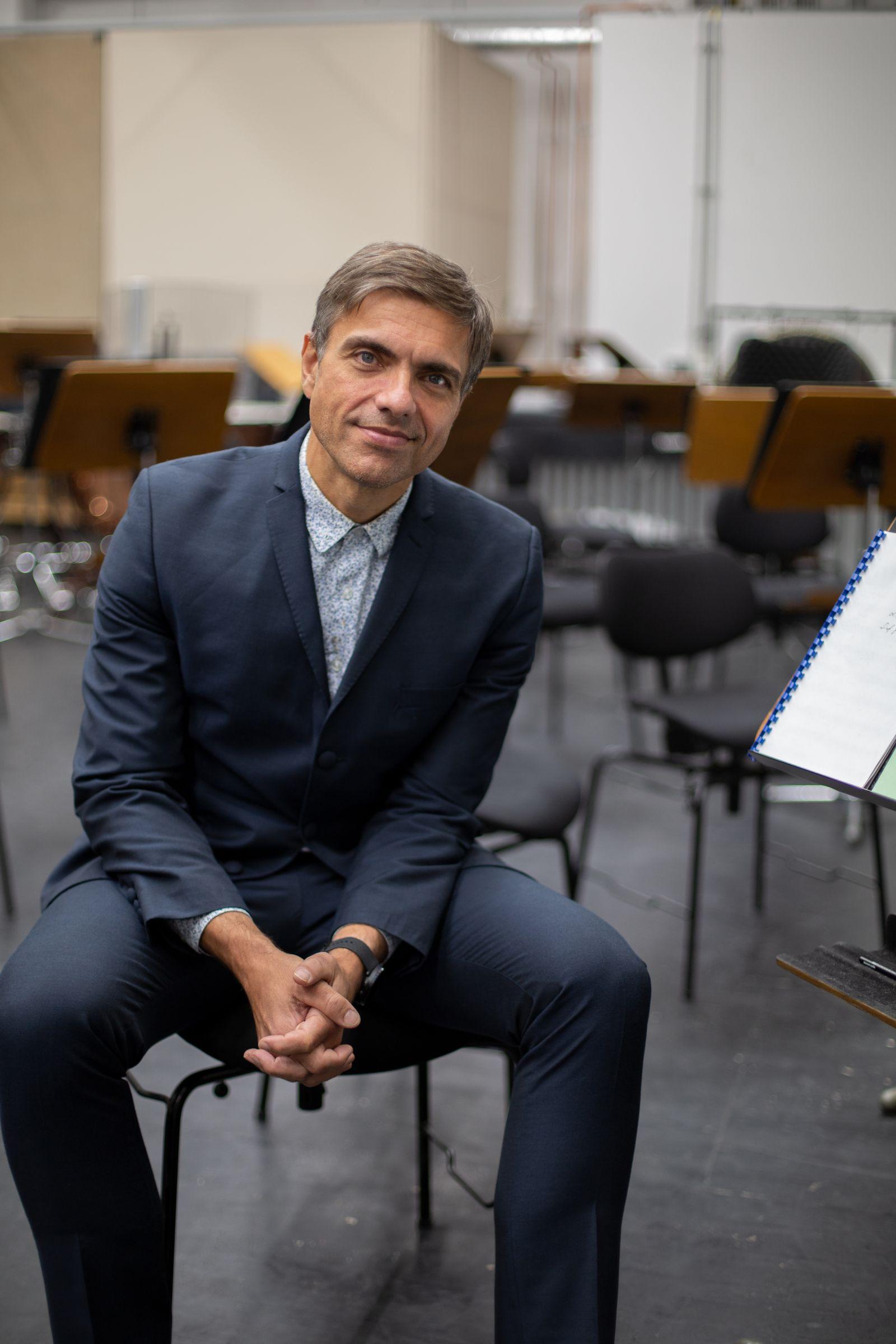 EINMALIGE VERWENDUNG Komponist Moritz Eggert