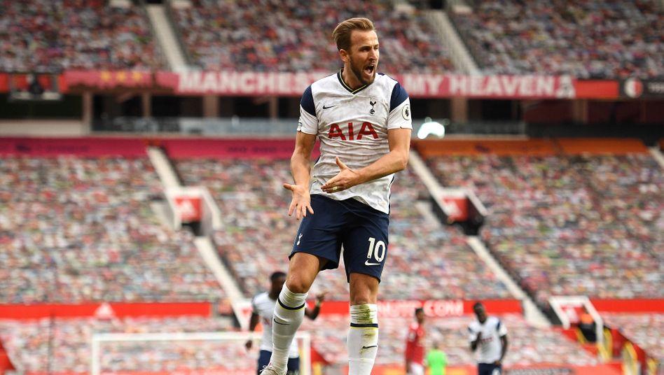 Spurs-Angreifer Hary Kane traf doppelt