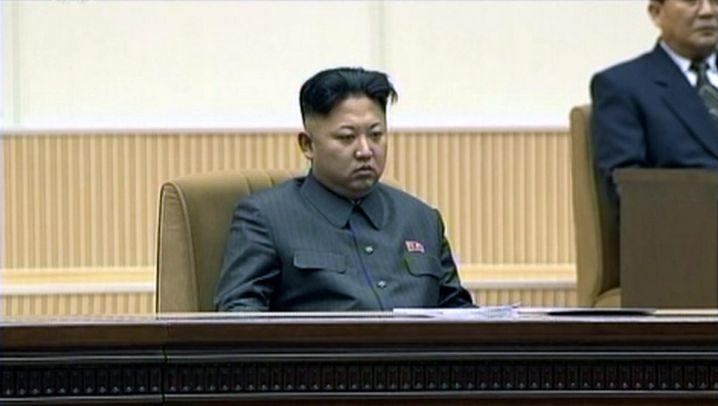 Nordkorea: Applaus für Diktator Kim Jong Un