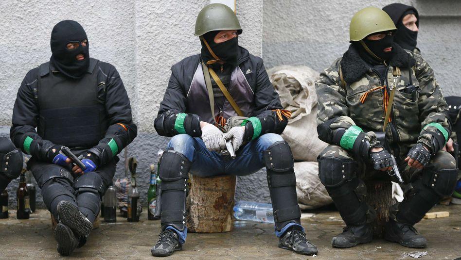 Krise in der Ostukraine: Separatisten widersetzen sich Genfer Einigung