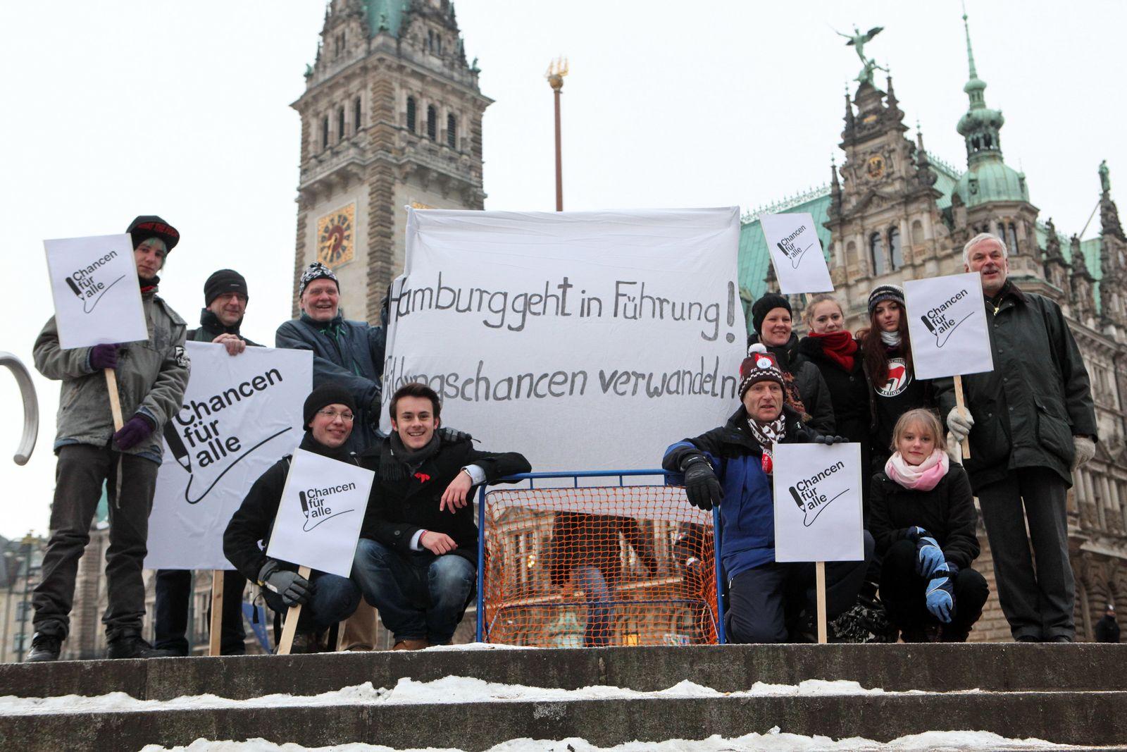 Verhandlungen Hamburger Schulreform