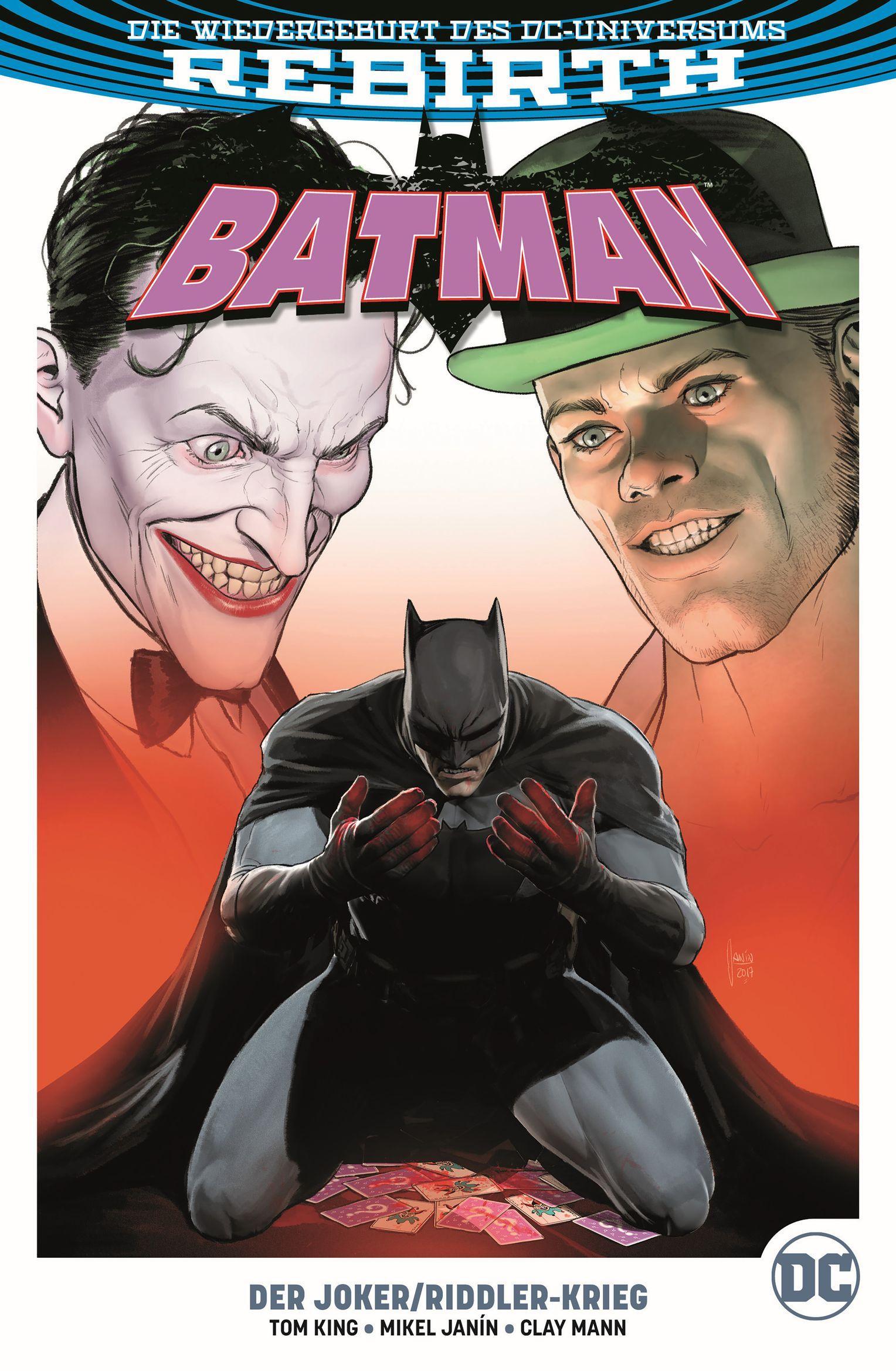 Panini Comic NEUWARE Niemandsland 8 deutsch Batman
