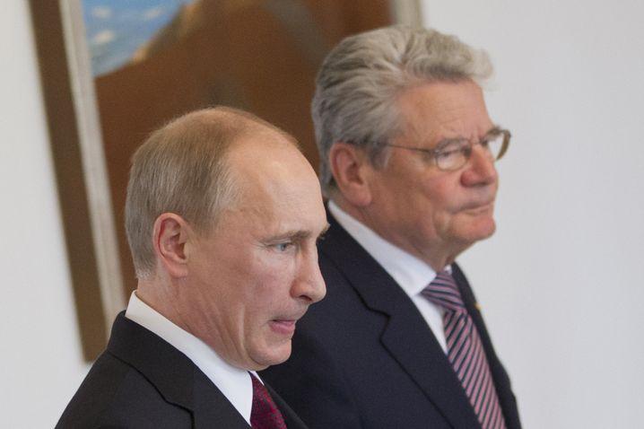 Putin und Gauck im Juni 2012 in Berlin