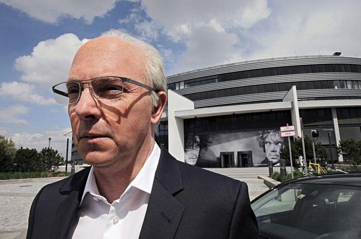 """Der doppelte Beckenbauer: Olli Dittrich in der Rolle von """"Schorsch Aigner"""""""