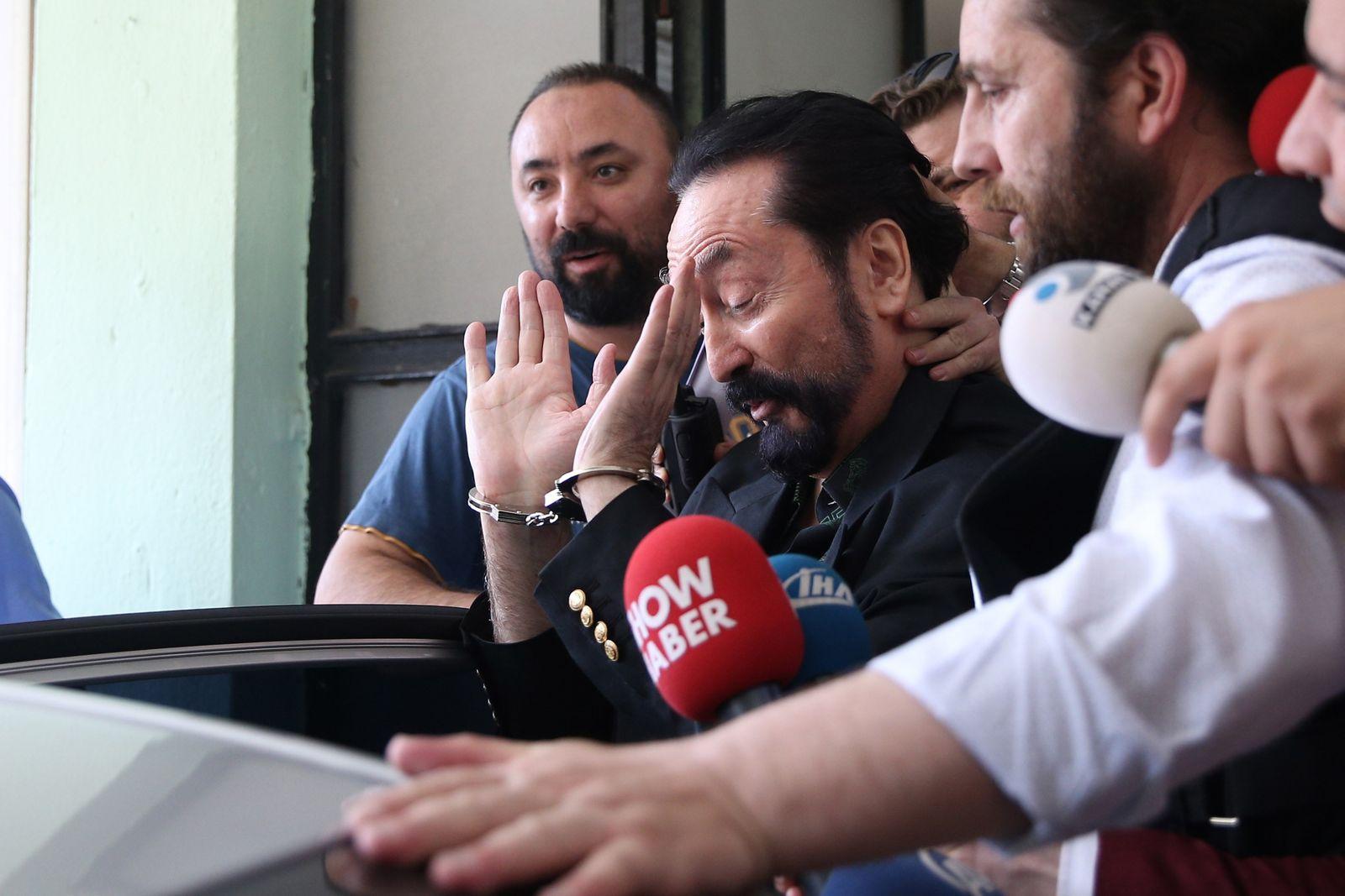 Turkish police arrest televangelist Adnan Oktar