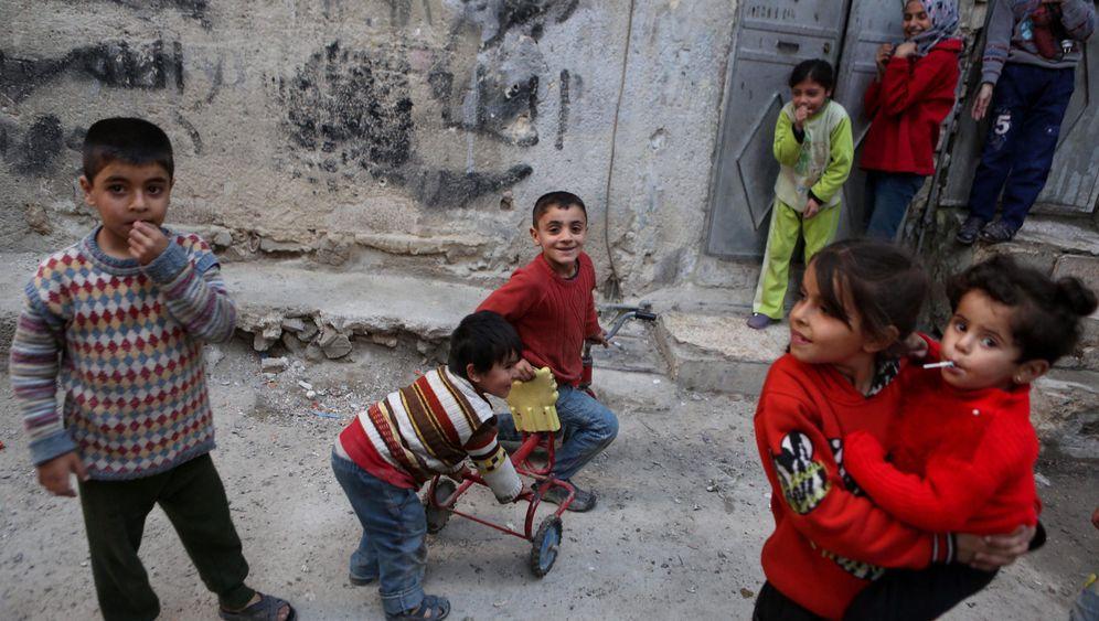 Waffenpause in Syrien: Unbeschwerte Stunden