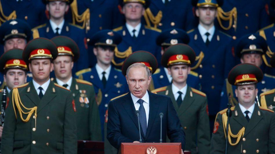 Russischer Präsident Wladimir Putin (2015)