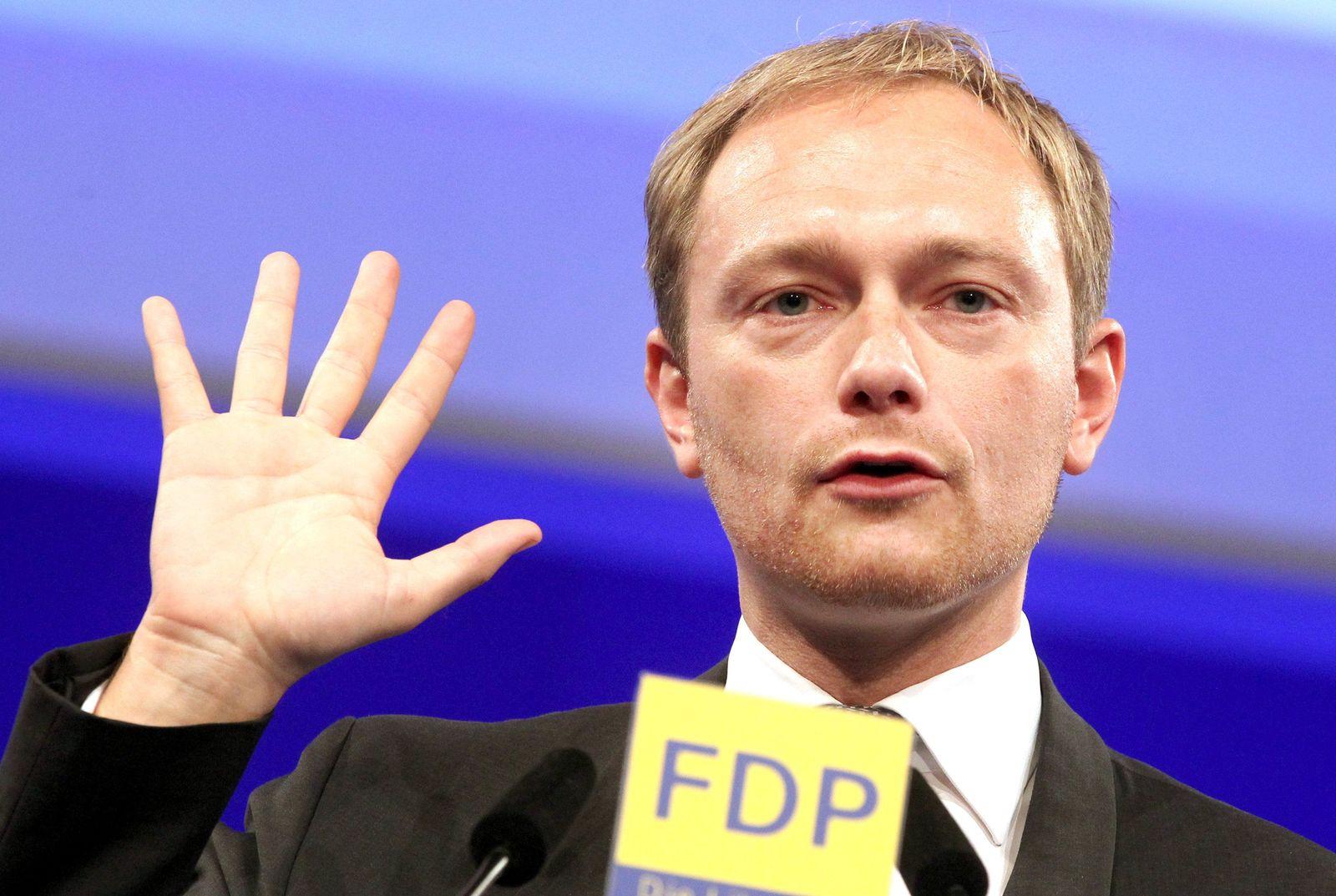 Lindner / FDP / Bundesparteitag