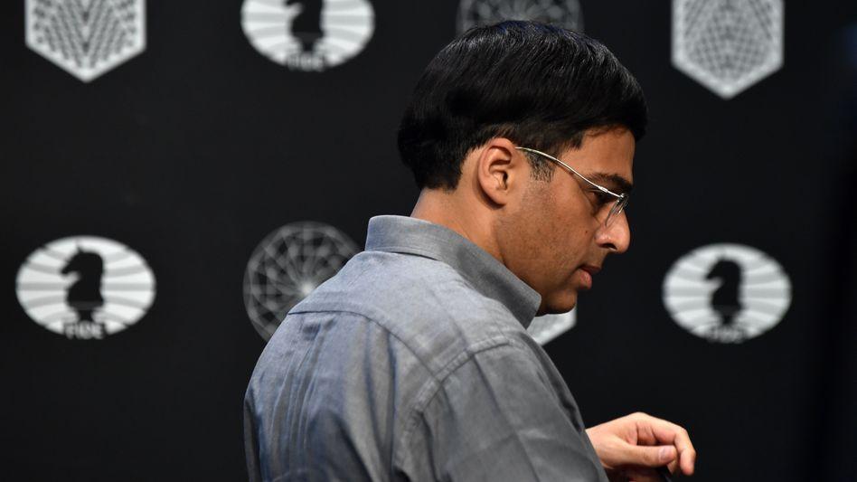 Schach-Großmeister Viswanathan Anand