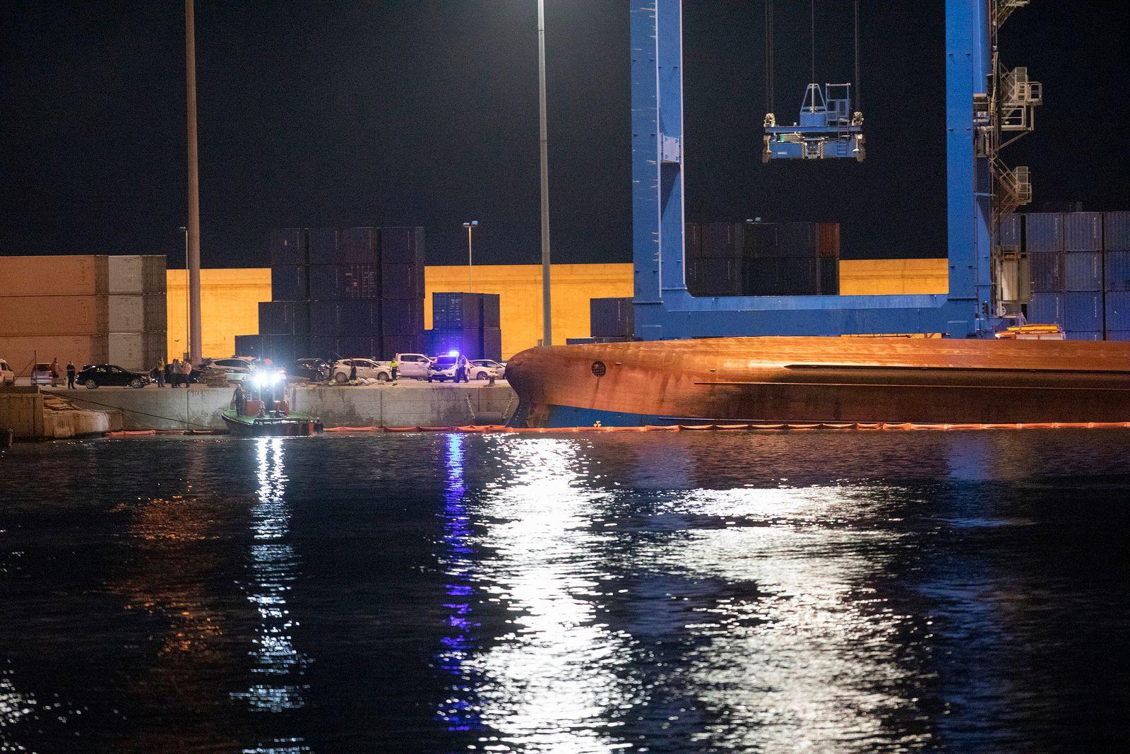 Verletzte und Vermisste nach Schiffsunglück in Spanien